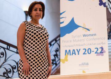 Mujeres sirias, de ambos bandos, dialogan por la paz