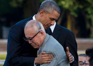 Shigeaki Mori, el superviviente que se abrazó a Obama