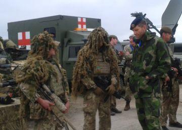 La OTAN estrena en Polonia su fuerza de acción inmediata