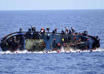 Naufragio de un barco con más de 500 personas a bordo, esta semana.