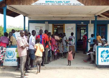 Así nace un campo de refugiados en África