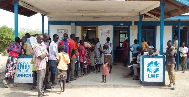 Centro de registro del campo de refugiados de Kakuma (Kenia)