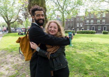 Abrace a un británico