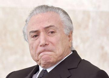 El presidente en funciones de Brasil, al filo de la navaja