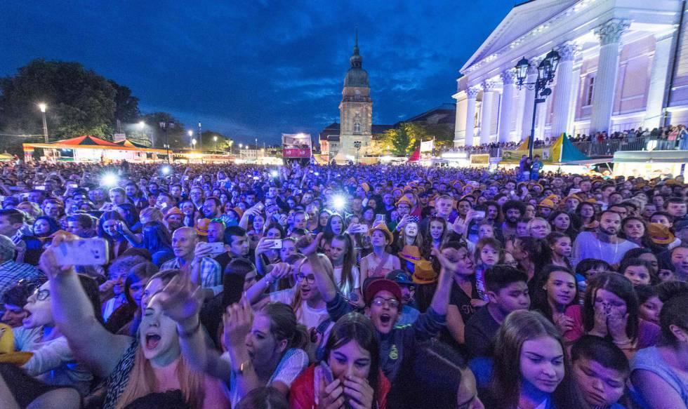 Imagen del pasado día 26 del festival de Darmstadt.