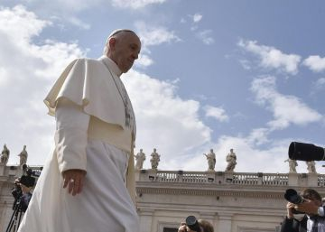 Jueces argentinos peregrinan ante el papa Francisco