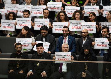 Alemania tensa las relaciones con Turquía al reconocer el genocidio armenio