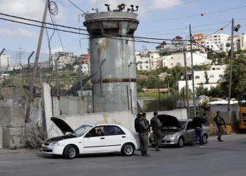 Medio siglo de barreras y puestos de control en Cisjordania
