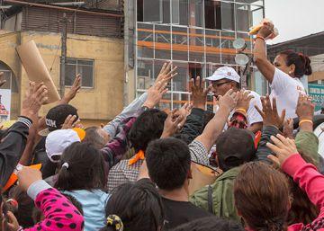 Villa El Salvador, corazón del fujimorismo en Lima