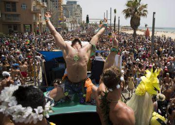 Orgullo junto al mar en Tel Aviv