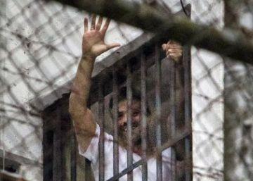 Zapatero visita en Venezuela al opositor preso Leopoldo López