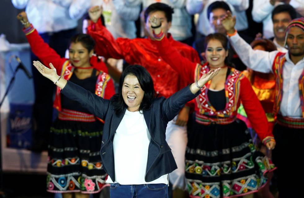 La candidata Keiko Fujimori.