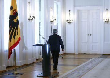 La elección de un nuevo presidente se convierte en un problema para Merkel