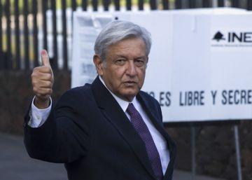 El líder de Morena Andrés Manuel López Obrador