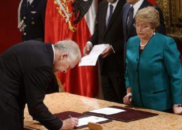 Renuncia el ministro del Interior de Chile