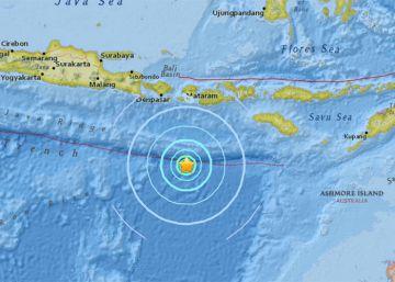 Un terremoto de magnitud 6,2 al sur de la isla indonesia de Lombok