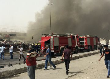 31 muertos y más de 70 heridos por dos coches bomba en Bagdad