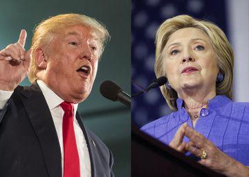 Clinton y Trump se enzarzan en Twitter