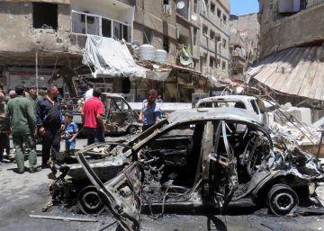 Doce muertos y más de 50 heridos en un doble atentado a las afueras de Damasco