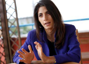 """Virginia Raggi: """"Roma es una ciudad devastada"""""""