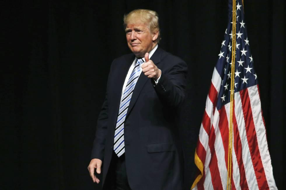Donald Trump, en mayo