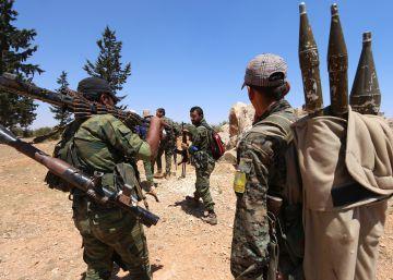 Kurdos, rebeldes y EE UU impulsan una ofensiva coordinada contra el ISIS en Siria