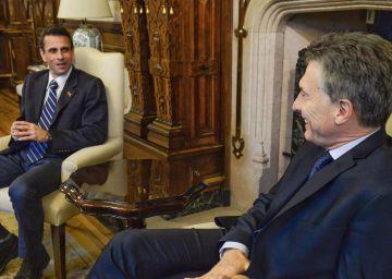 El opositor venezolano Henrique Capriles pide apoyo en Argentina, Brasil y Paraguay
