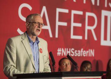"""Corbyn alerta contra el """"riesgo serio e inmediato"""" de abandonar la UE"""