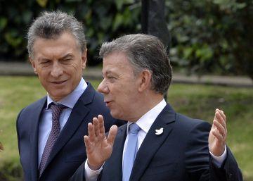 Colombia impulsa la entrada de Argentina en la Alianza del Pacífico