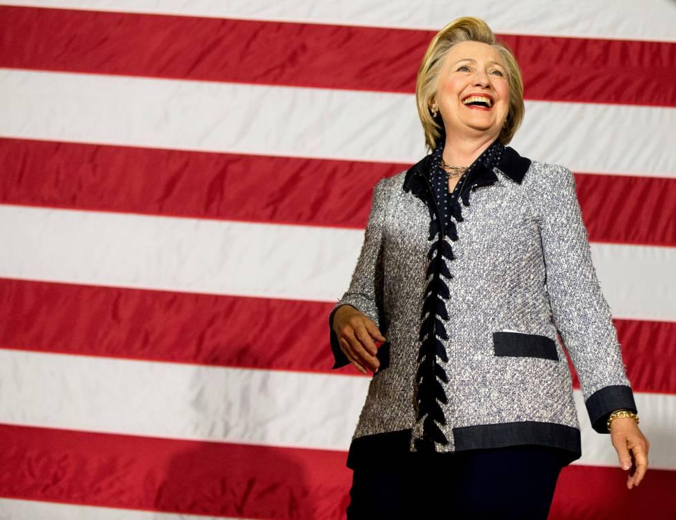 Hillary Clinton en un evento este martes en Pittsburgh.
