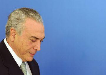El presidente de Brasil tacha de falsa la acusación de corrupción