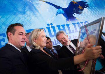 La extrema derecha europea arropa la campaña del 'Brexit'