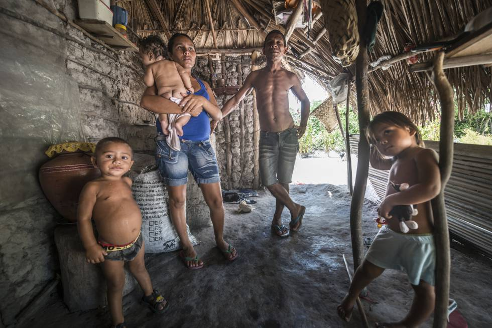 Aderaldo Ferreira da Silva e sua família.