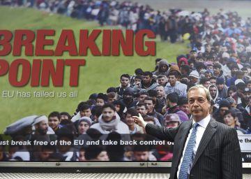 La inmigración se erige en el gran campo de batalla política en Reino Unido