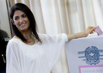 Raggi será la nueva alcaldesa de Roma