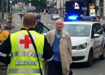 El detenido en Bruselas portaba un cinturón explosivo falso con sal y galletas