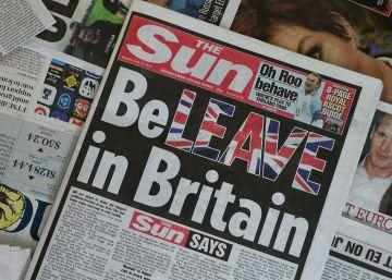 Los periódicos británicos toman partido en el referéndum sobre el 'Brexit'