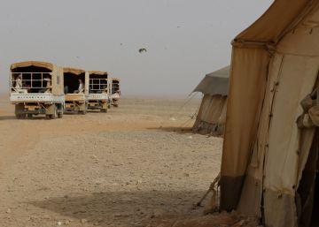 Mueren seis agentes jordanos en un ataque en la frontera siria