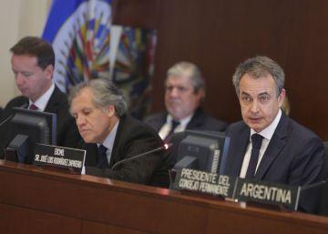 """Zapatero pide """"una oportunidad para el diálogo"""" en Venezuela"""