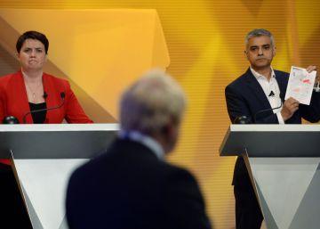 Vídeo | El gran debate del 'Brexit': pasión, 6 políticos y 6.000 espectadores