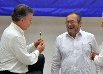 Un 'balígrafo' para Timochenko