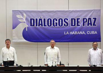 Las FARC se comprometen a entregar las armas en 180 días tras la firma de la paz