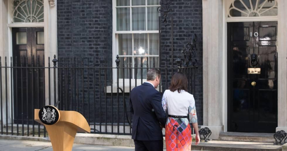David Cameron dimite