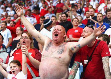 Inglaterra, país 'hooligan'