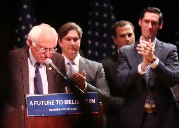 """Sanders afirma que votará a Clinton para evitar el """"desastre"""" de Trump"""
