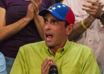 """Capriles dice que Zapatero está """"descalificado"""" para mediar en el conflicto de Venezuela"""