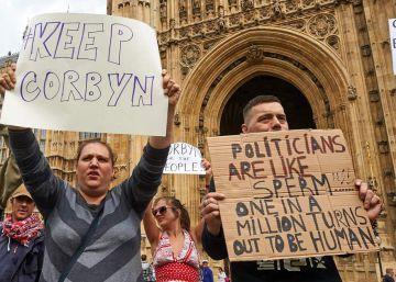 La izquierda británica pierde la calle
