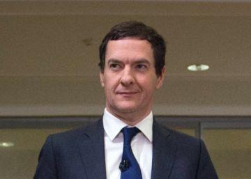 El ministro de Economía británico, George Osborne, este lunes en Londres.