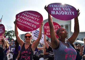 El Tribunal Supremo de EE UU rechaza las restricciones de Texas al derecho al aborto