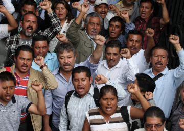 La retirada de la reforma educativa pone a prueba el diálogo de Peña Nieto con los maestros disidentes